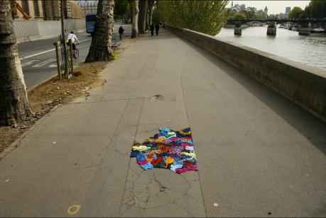 Yarn potholes